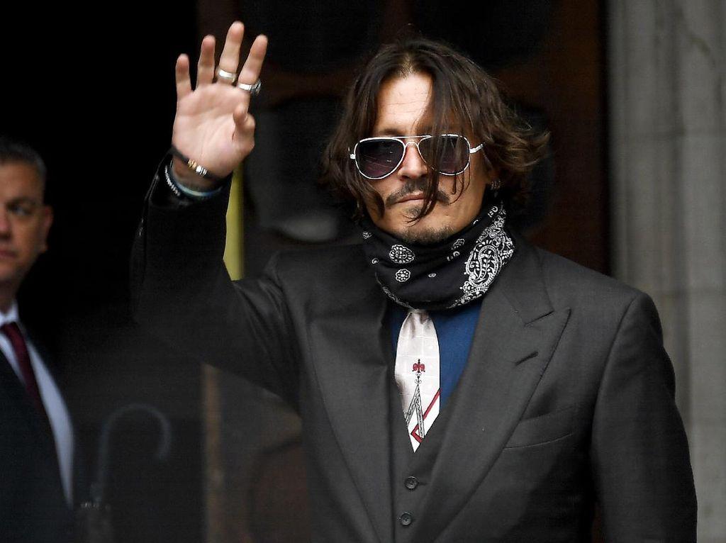 Johnny Depp Sebut Amber Heard Lakukan KDRT