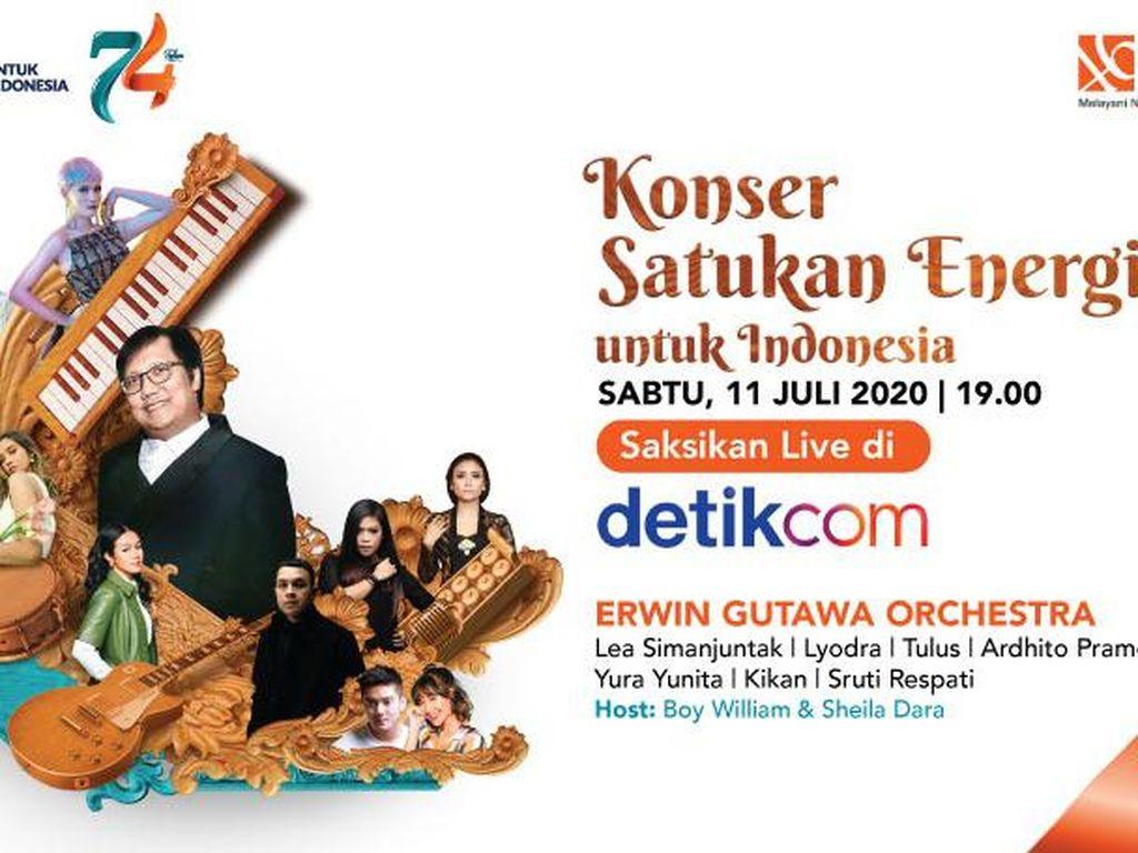 Live! Konser Satukan Energi HUT BNI ke-74 Bersama Erwin Gutawa