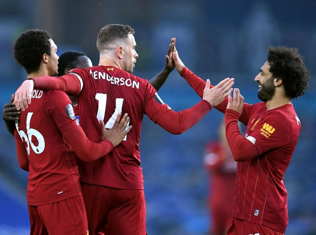 Video Liverpool Menang 3-1 Atas Brighton