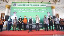 Lumbung Pangan Jadi Kontrol Harga Sembako di Jatim