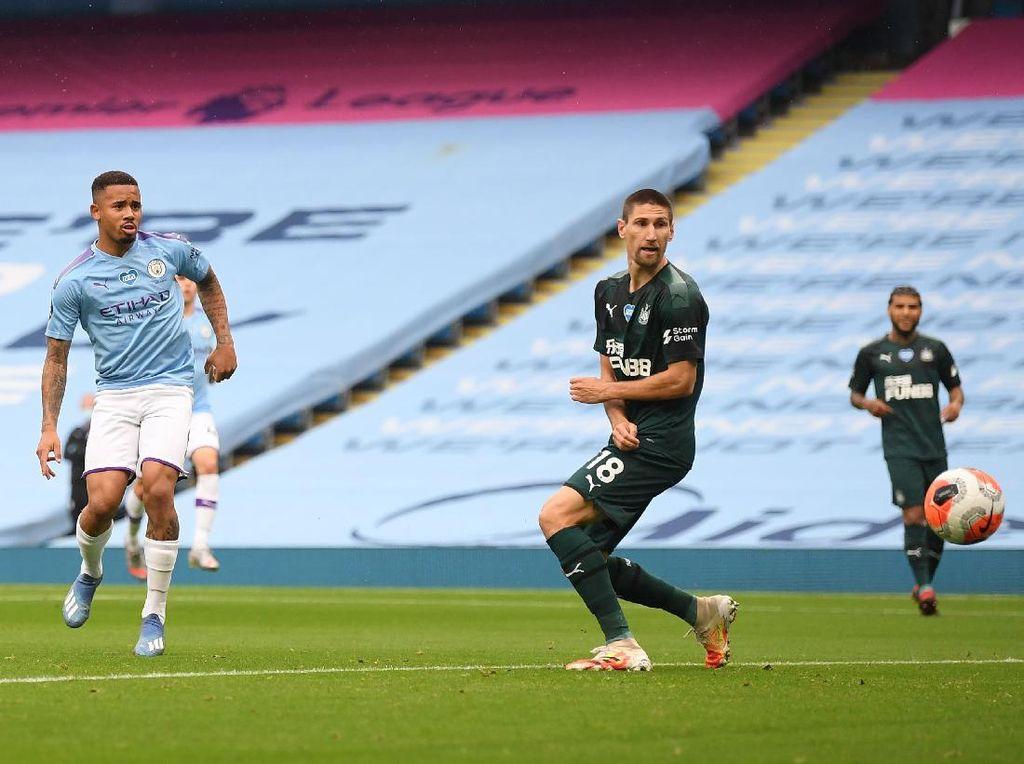 Dominan, City Ungguli Newcastle 2-0 di Babak I