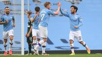 Manchester City Pesta Gol ke Gawang Newcastle