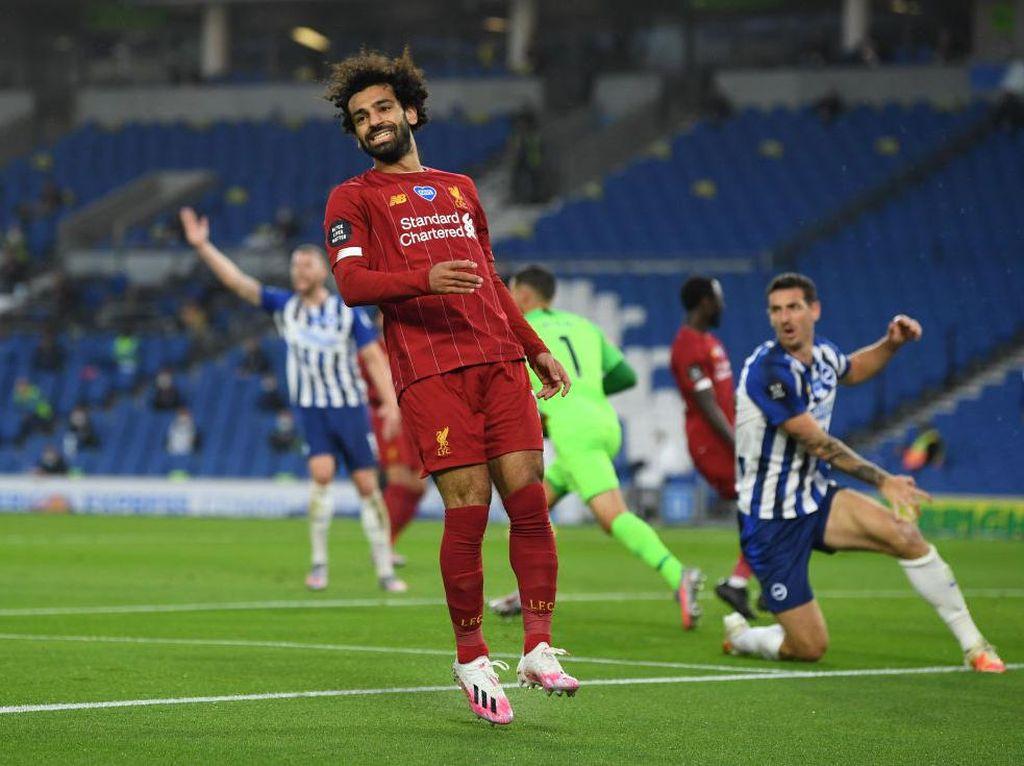 Soal Persaingan Top Skor Liga Inggris, Mohamed Salah Bilang Begini