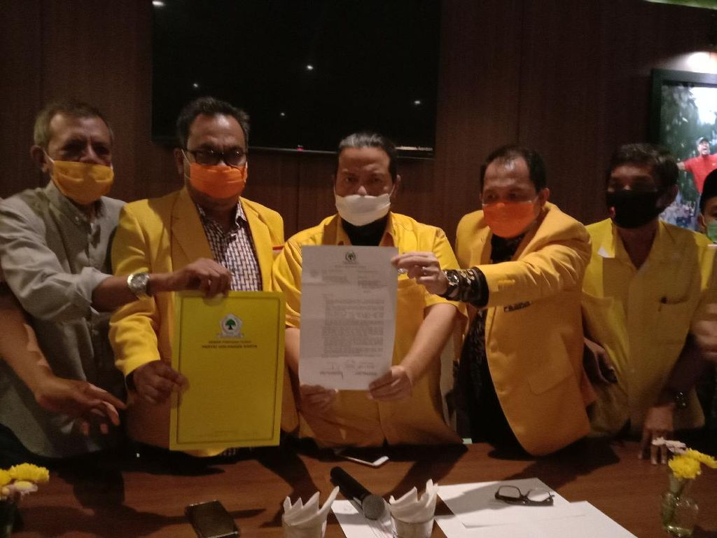 Pendukung Tunjukkan Diskresi DPP untuk Ijeck Jadi Calon Ketua Golkar Sumut