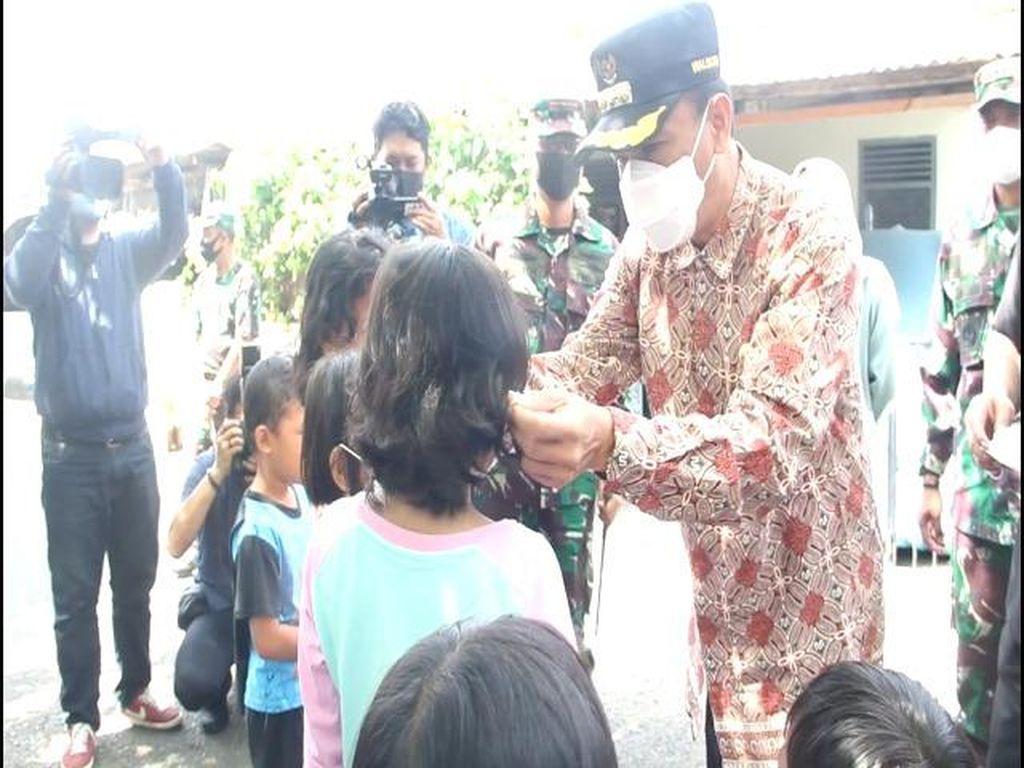 Pj Wali Kota Makassar Pantau Protokol Kesehatan di Kompleks TNI