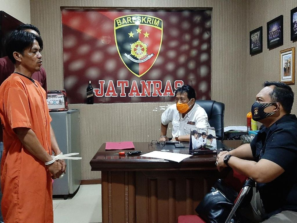 Polisi Tangkap Keponakan Penusuk Paman Hingga Tewas di Palembang