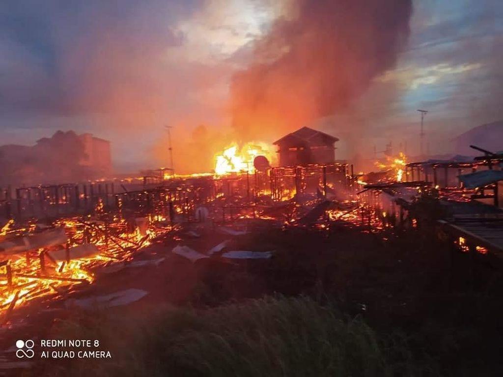 Kebakaran Sekolah di Kukar, Diduga Akibat Kompor di Rumah Warga Terbakar