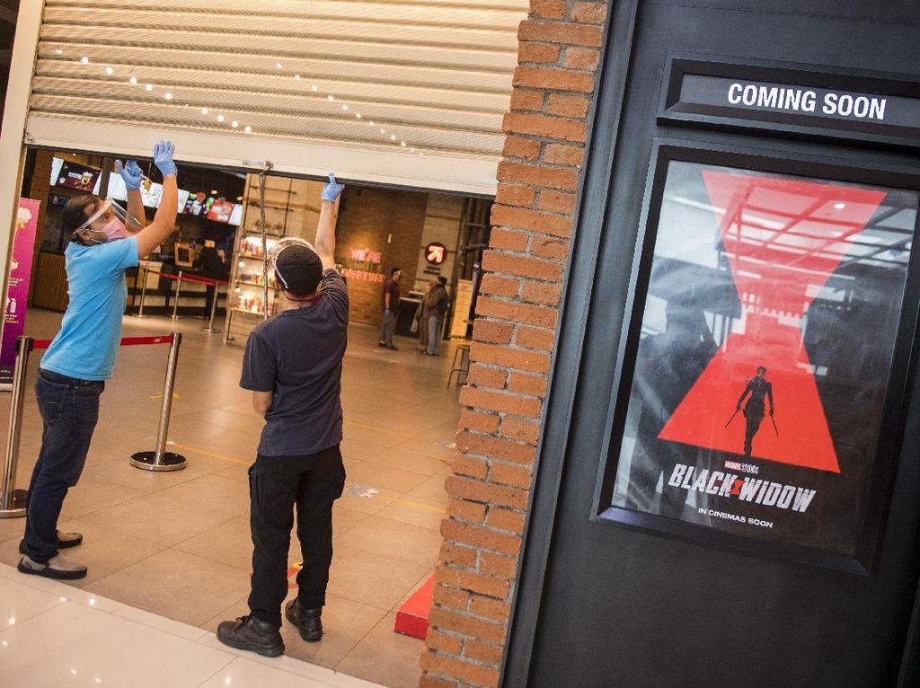 Bioskop di Jakarta Mulai Dibuka Hari Ini