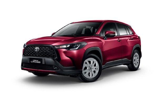 Toyota Corolla Cross meluncur di Thailand, Kamis (9/7).