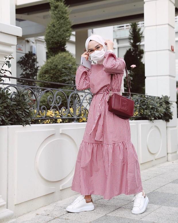 Tips memadu padankan masker x hijab ala influencer
