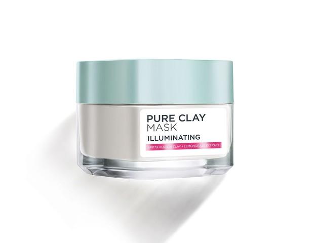 L'oreal Pure Clay Mask Illuminating ampuh atasi kulit kusam