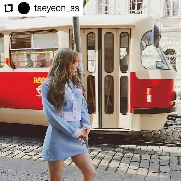 Taeyeon/ Foto: Instagram.com/mixxmix_seoul