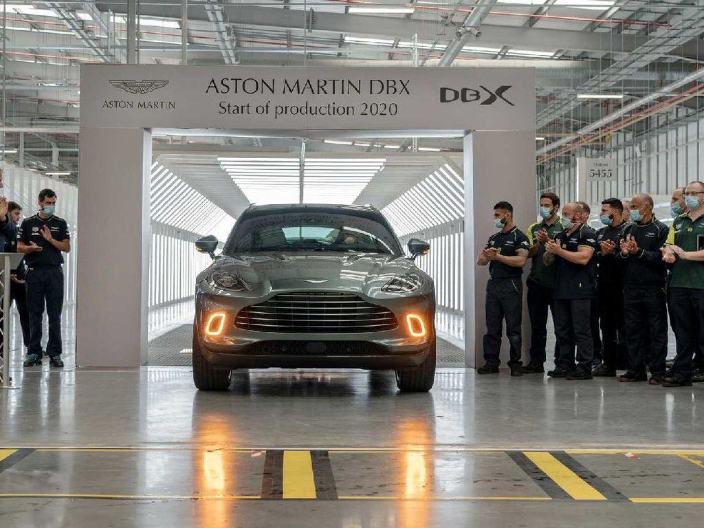 SUV Pertama Aston Martin Akhirnya Masuk Jalur Produksi