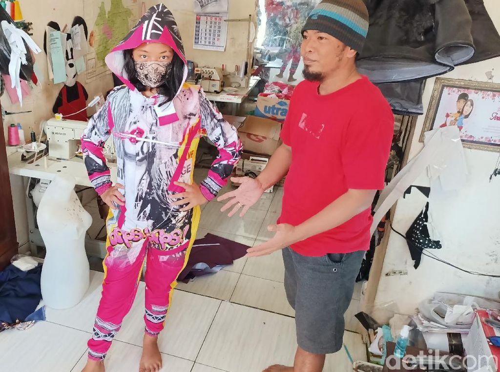 Ini APD Buatan Warga Kediri yang Aman, Nyaman Tapi Fashionable