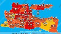 Kasus Positif COVID-19 di Jatim Tambah 418, Sebanyak 114 dari Sidoarjo
