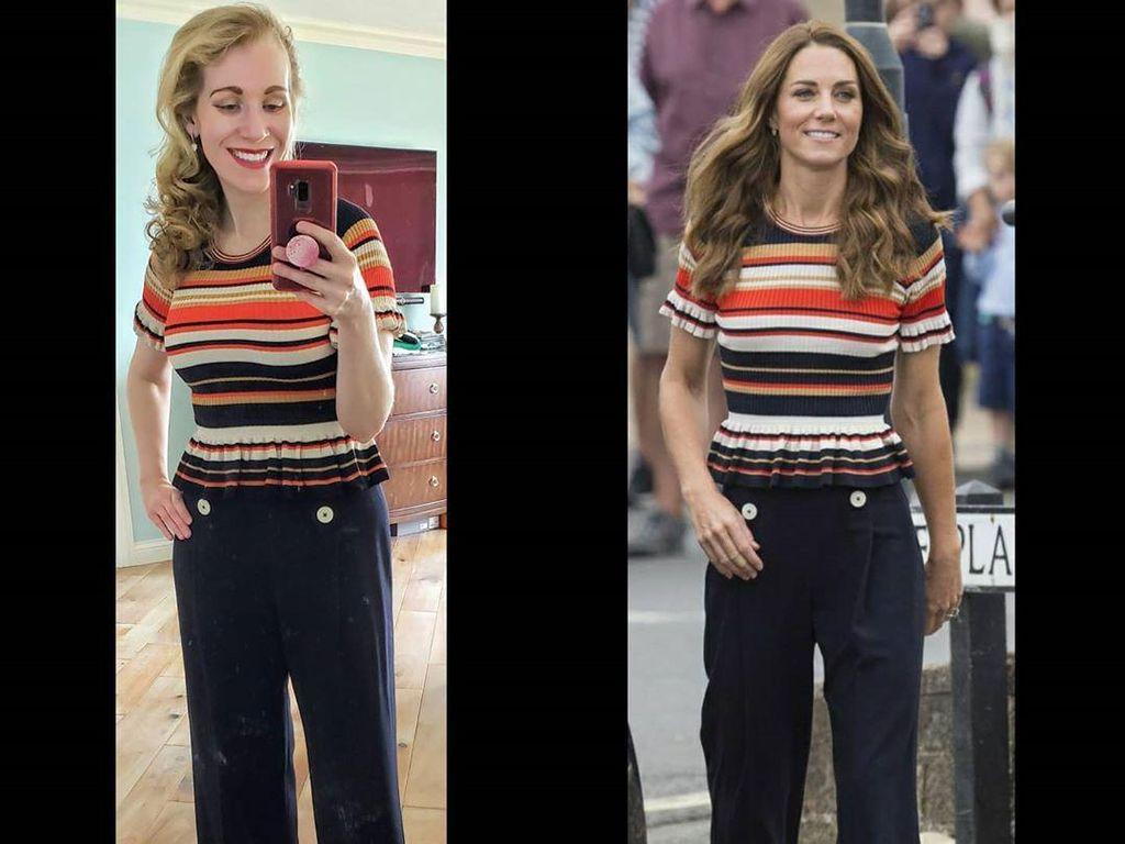 7 Gaya Wanita yang Meniru Kate Middleton, Beli 15 Baju Tiap Bulan