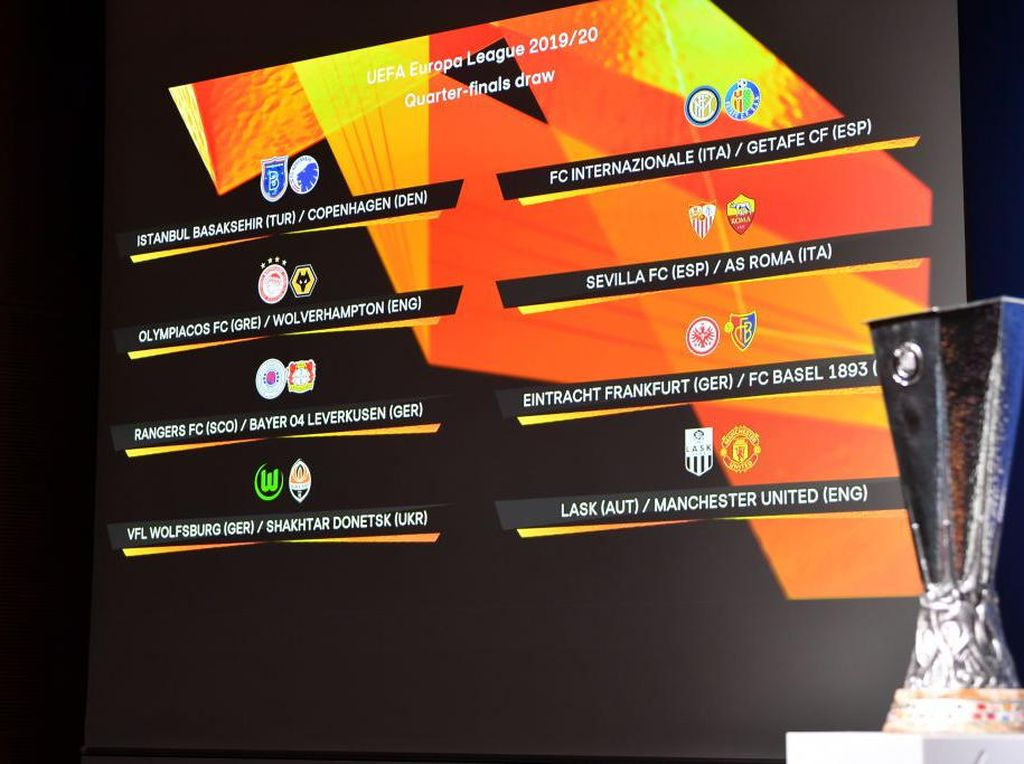 Hasil Drawing Perempatfinal Liga Europa