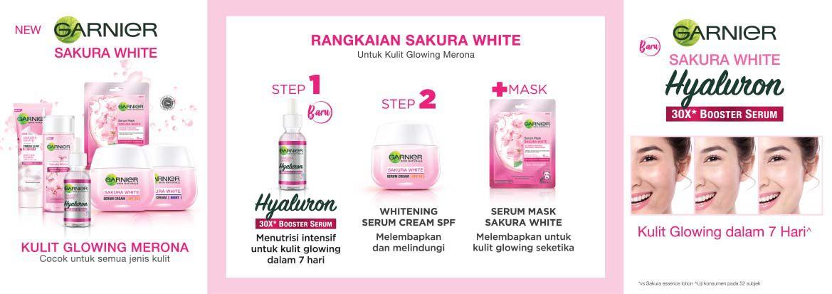 Garnier Sakura White Hyaluron 30X Booster Serum