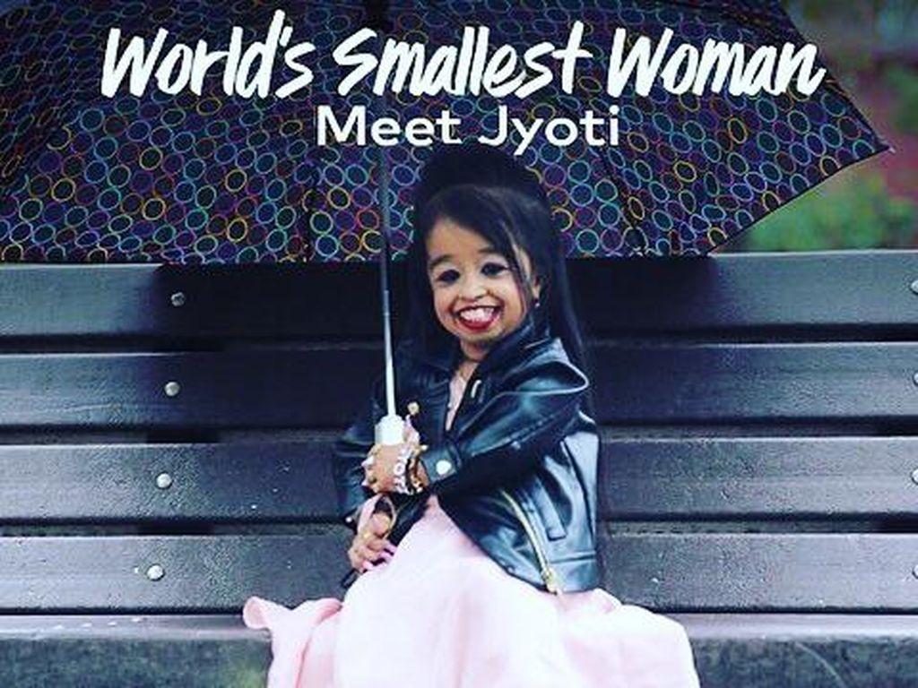 Potret Wanita Terkecil di Dunia, Tingginya Cuma 60 CM