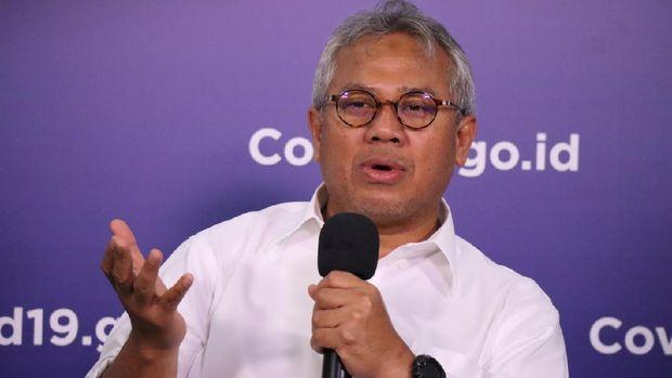 Ketua KPU Arief Budiman (Dume Sinaga/BNPB)
