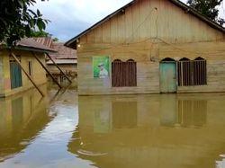 Banjir di Konawe Utara Sultra Meluas, Rendam 6 Desa
