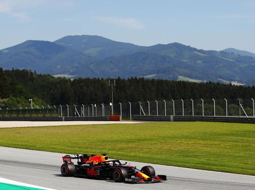 Hasil FP2 GP Styria: Max Verstappen Tercepat
