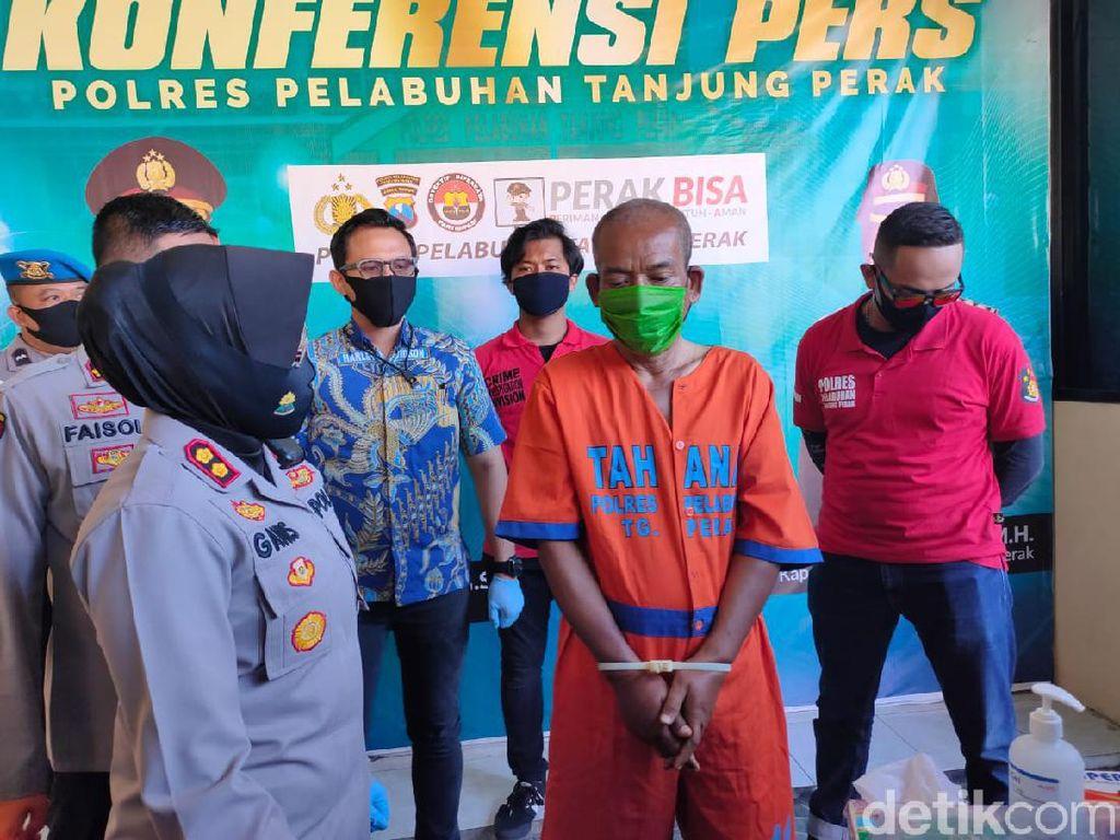 Seorang Penjaga Makam di Surabaya Ditangkap Setelah Cabuli 4 Anak