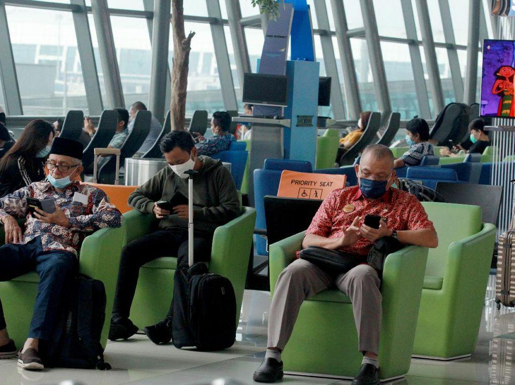 PSBB Jakarta Diyakini Takkan Ganggu Jumlah Penumpang Pesawat