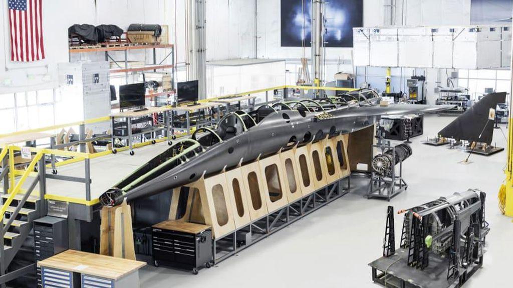 Potret Pesawat Supersonik yang Diuji Terbang 2021