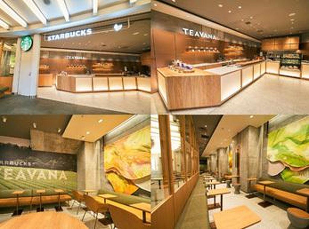 Tak Ada Kopi, Starbucks di Lokasi Ini Khusus untuk Pencinta Teh