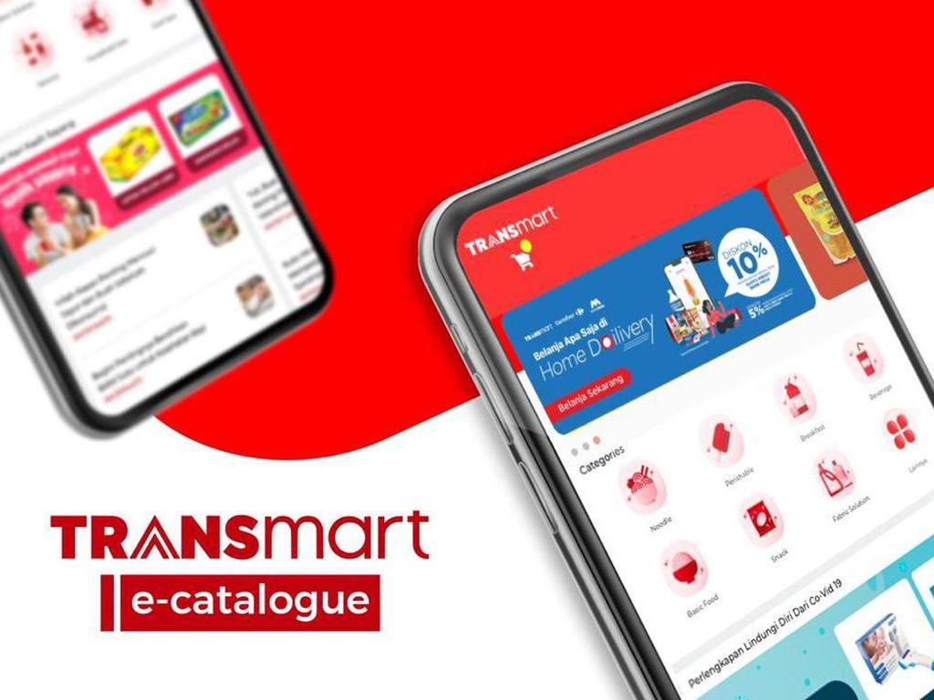 Belanja di e-Catalogue Transmart Dapat Diskon hingga 10%, Mau?