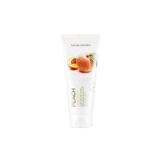 Korean skincare products from peaches