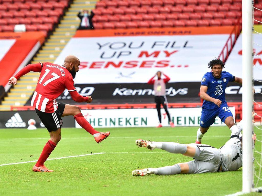 Sheffield Vs Chelsea: The Blues Tertinggal 0-2 di Babak Pertama