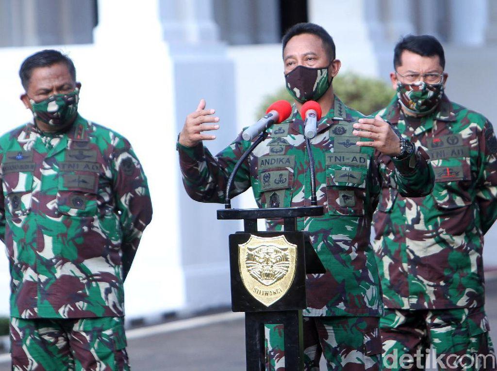 Jenderal Andika Bakal Datangi 5 Gubernur dengan Kasus Terbesar COVID-19