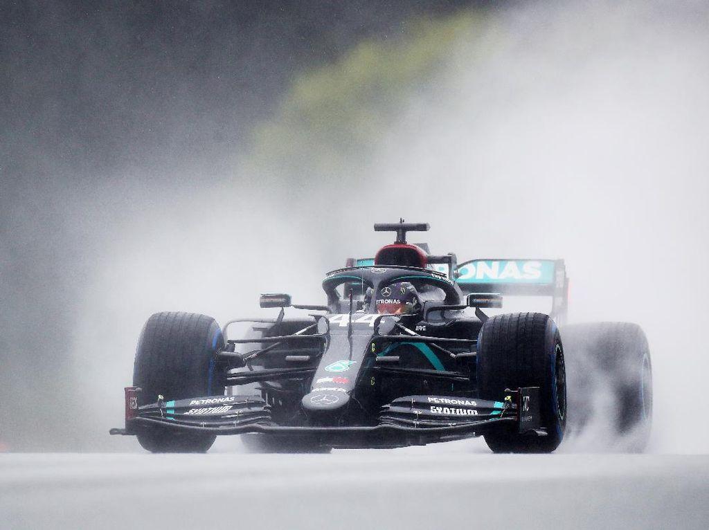 Libas Guyuran Hujan, Hamilton Rebut Pole Position GP Styria