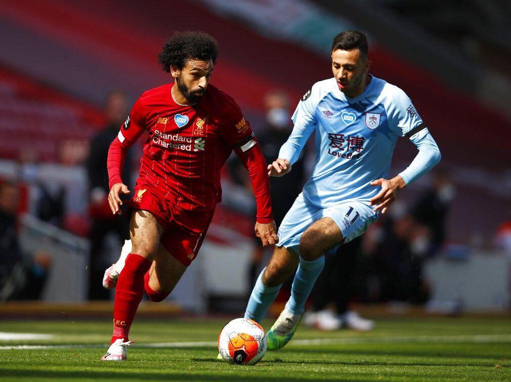 Liverpool Vs Burnley Tuntas 1-1
