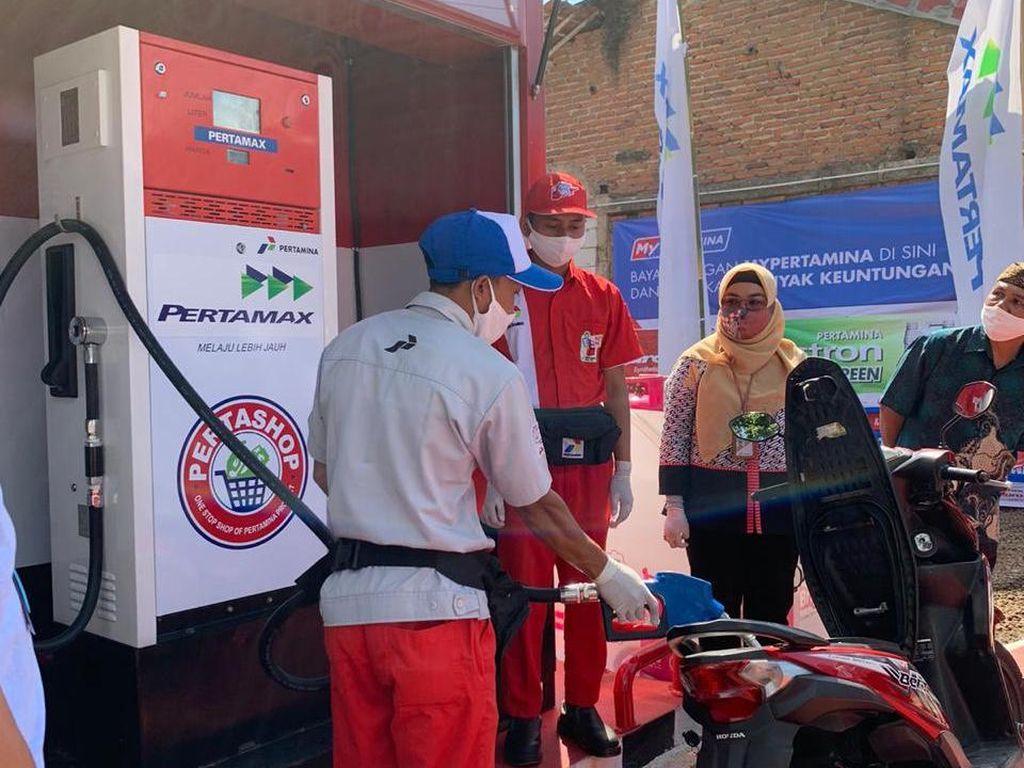 Pertashop ke-30 Area MOR III Diresmikan di Kabupaten Sumedang