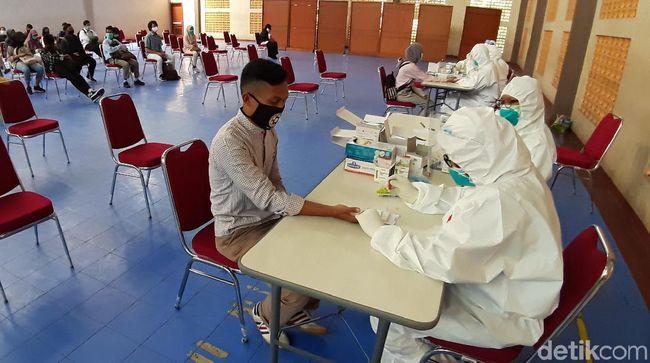 Panitia dan Peserta UTBK UNPAD Rapid Test, 5 Orang Reaktif