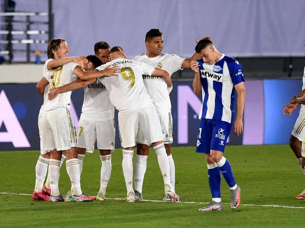 Real Madrid Vs Alaves: Dapat Penalti Lagi, Los Blancos Menang 2-0