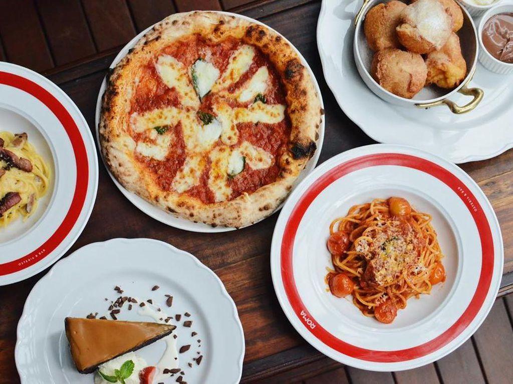 Di Resto Ini Ada Pizza Neapolitana dan Pasta Carbonara Autentik Italia