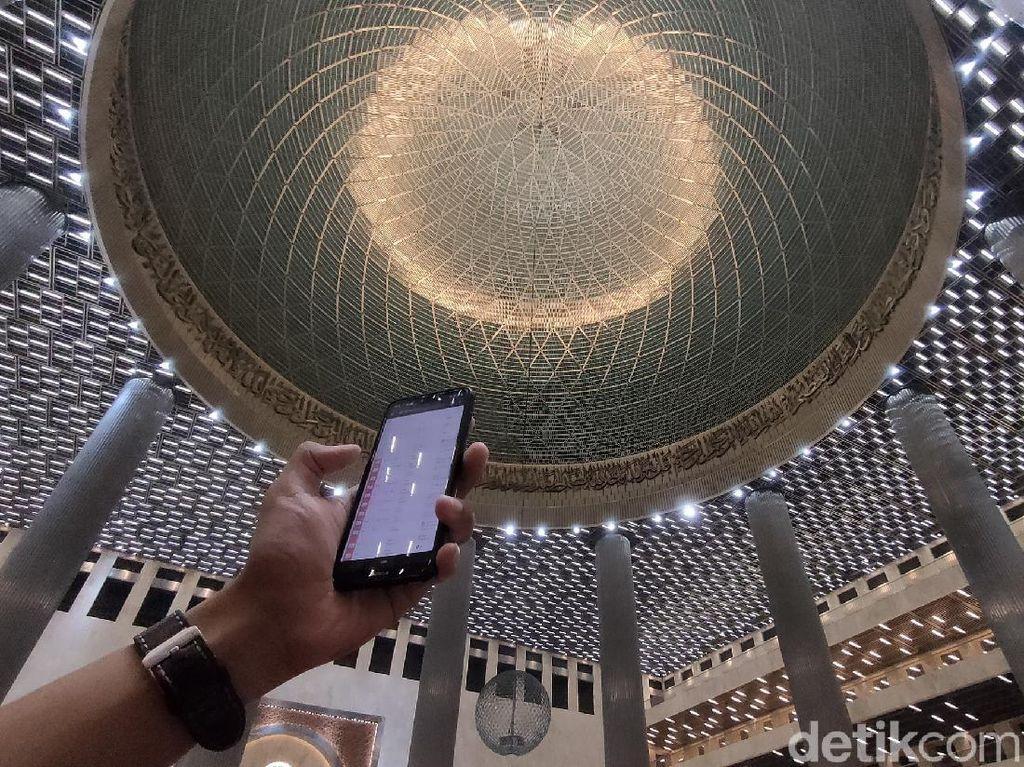 Bedah Teknologi Smart Lighting di Masjid Istiqlal yang Canggih