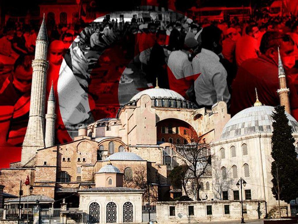 Video: Azan Berkumandang Lagi di Hagia Sophia