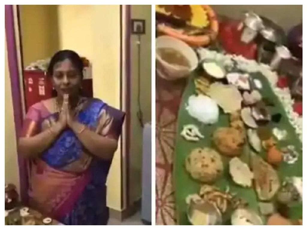 Mertua Idaman! Wanita Ini Masak 67 Jenis Makanan Untuk Menantunya