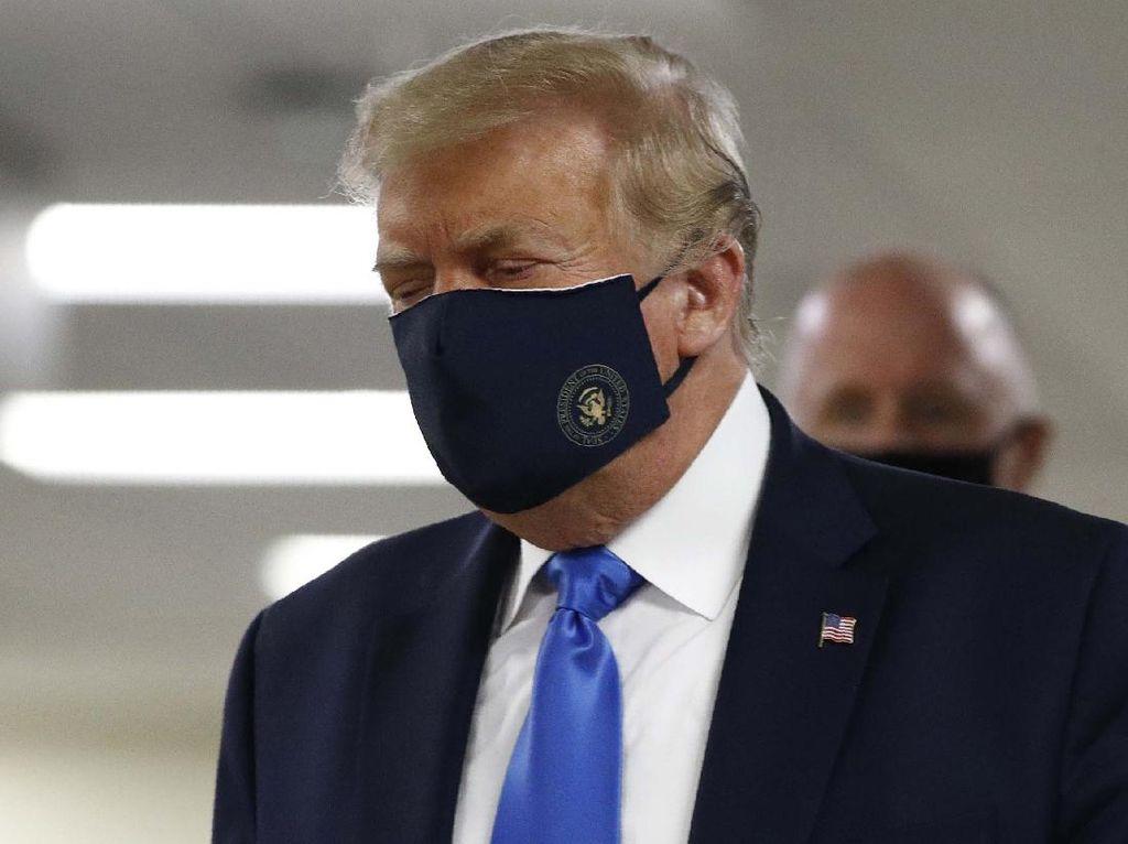 Trump Klaim Selamatkan Banyak Nyawa Warga Amerika Serikat
