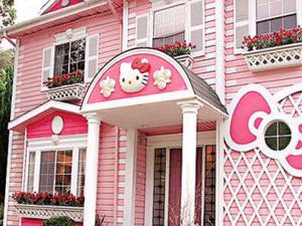 Rumah di Kartun Ada Sungguhan Lho, Ini Buktinya