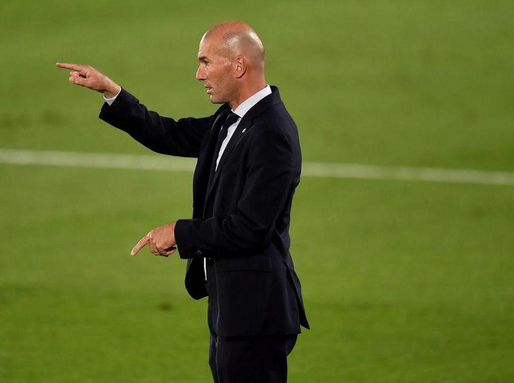 Zinedine Zidane Belum Mau Bilang Real Madrid Juara