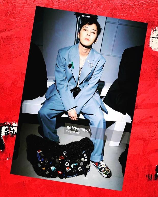 G-Dragon Big Bang pernah menjadi brand ambassador Chanel dan kini menjadi brand ambassador sepatu Nike.