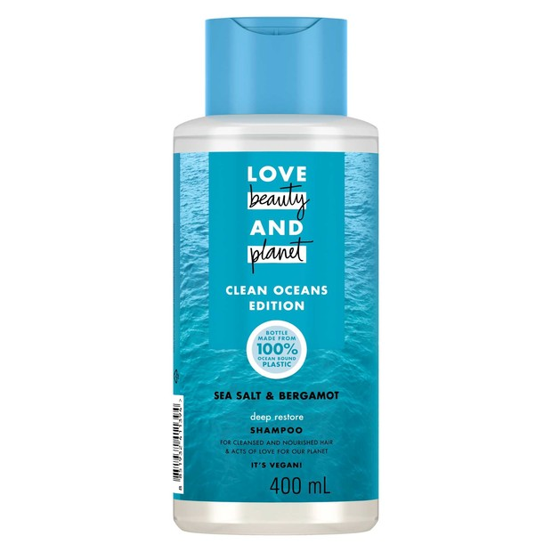 Love Beauty and Planet Shampoo Clean Oceans Edition