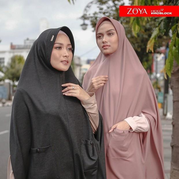 hijab syari antivirus yang fashionable dan nyaman dipakai dari Zoya