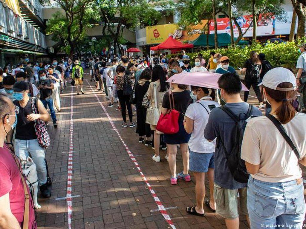 600 Ribu Warga Hong Kong Ikuti Pemilu Pendahuluan